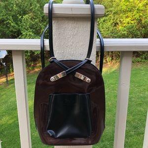 Cute mini vinyl backpack